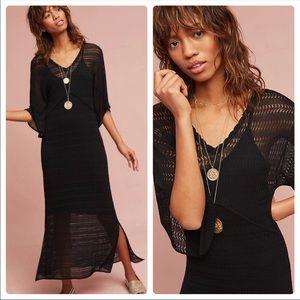 8c022fd7913 Anthropologie Dresses - Anthropologie Maeve Kimono Sweater Dress Black